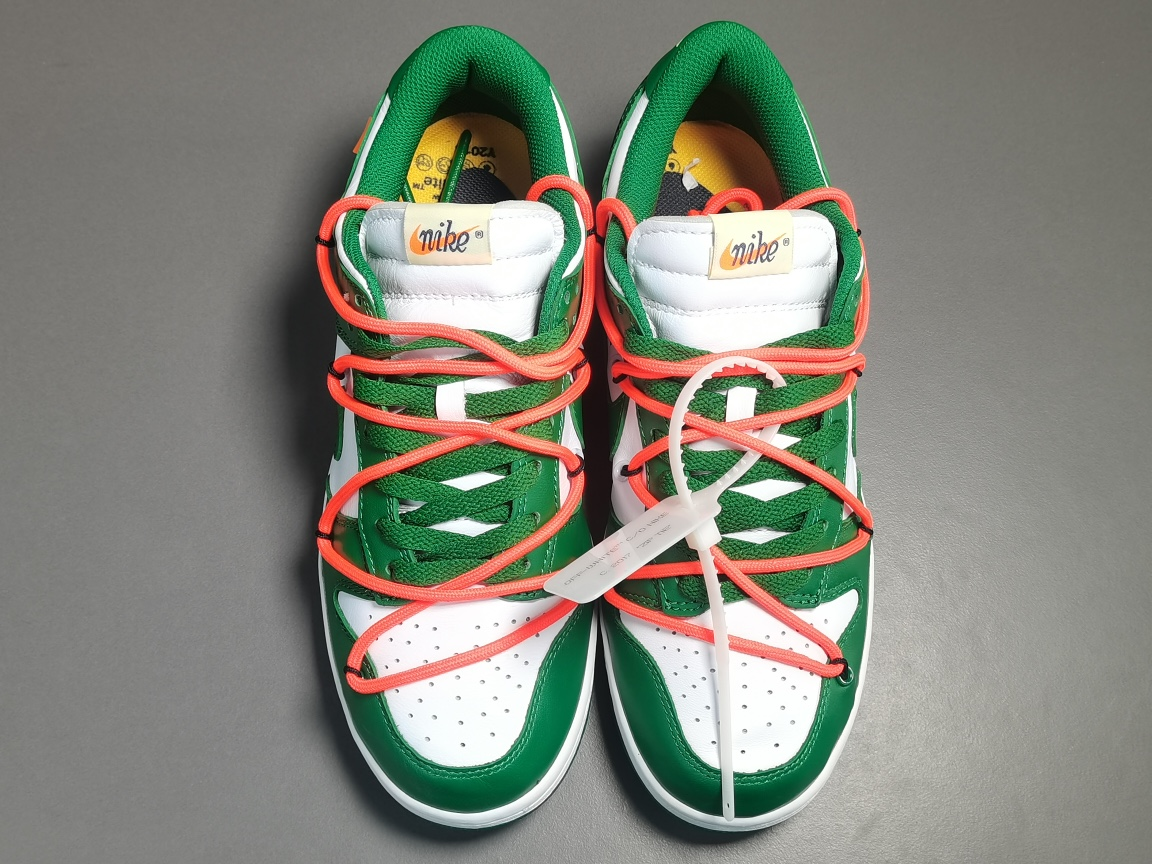 纯原版_DUNK OW_ OFF-WHITE x Nike Dunk Low,货号:DD0856-801_椰子og版