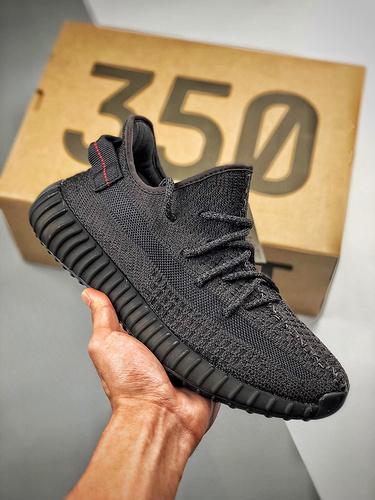 "Yeezy 350 Boost V2  ""Black""  3M 黑满天星_莆田小学英语用的是什么版本"