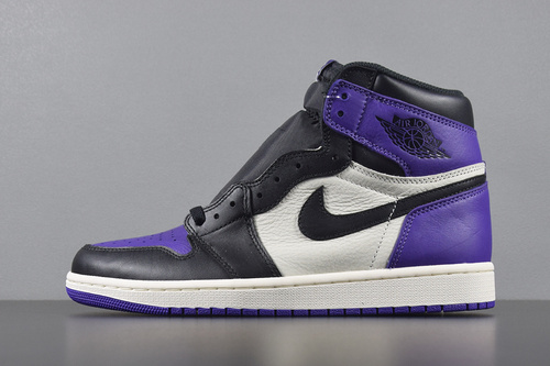 "【GET版AJ高帮】AIR JORDAN 1 RETRO HIGH OG ""Court Purple"" 紫脚趾 555088-501_椰子 G5 KO PK"
