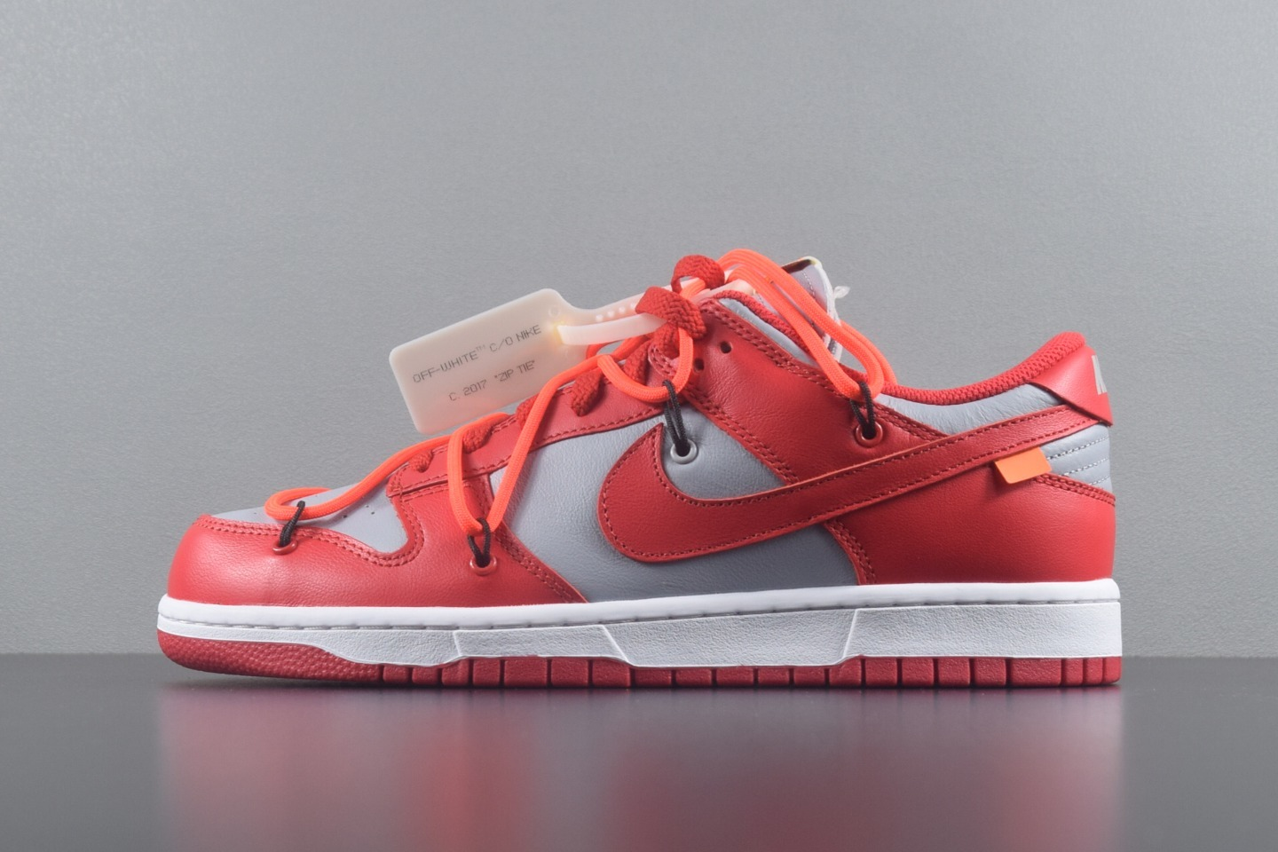 OFF-WHITE X DUNK LOW PINE GREEN OW联名 灰红 CT0856-600_新G5椰子