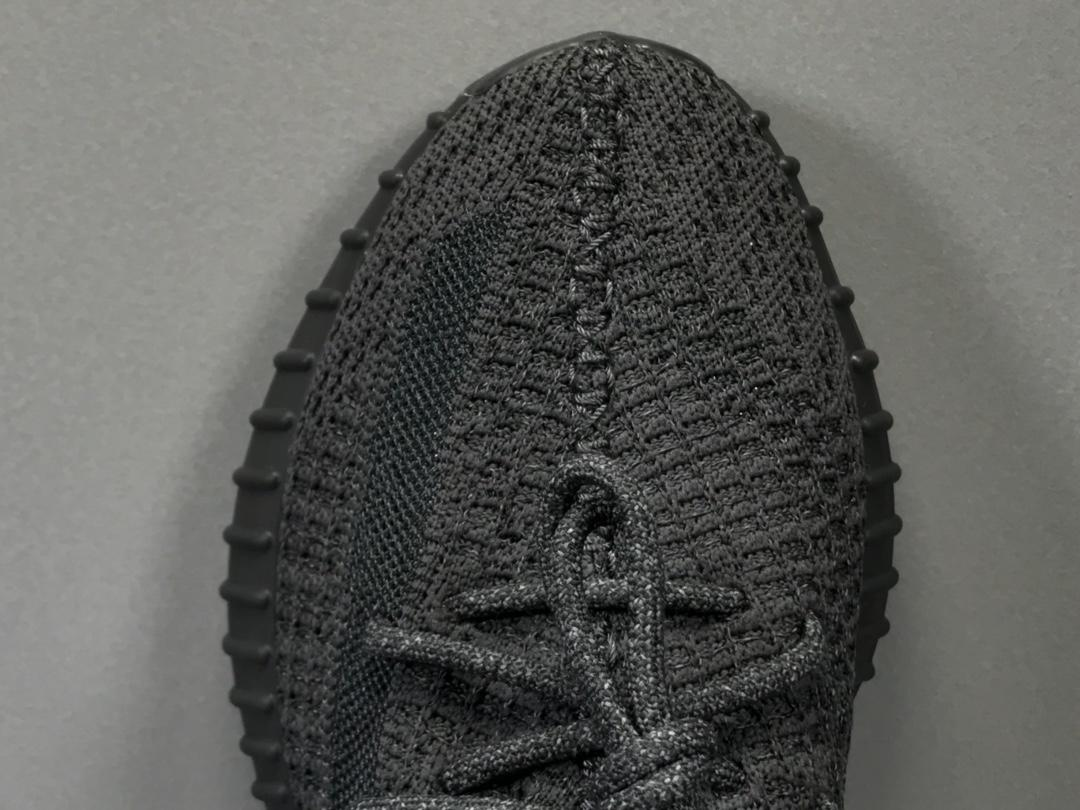 "OG版_350V2 黑满天星 Adidas Yeezy Boost 350 V2 ""BLACK STATIC"",货号_FU9007_椰子og和"