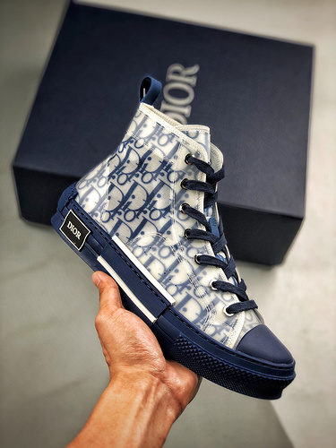 "Dior B23 Oblique High Top Sneakers 迪奥""CD重影""_yeezys2和og哪个好"