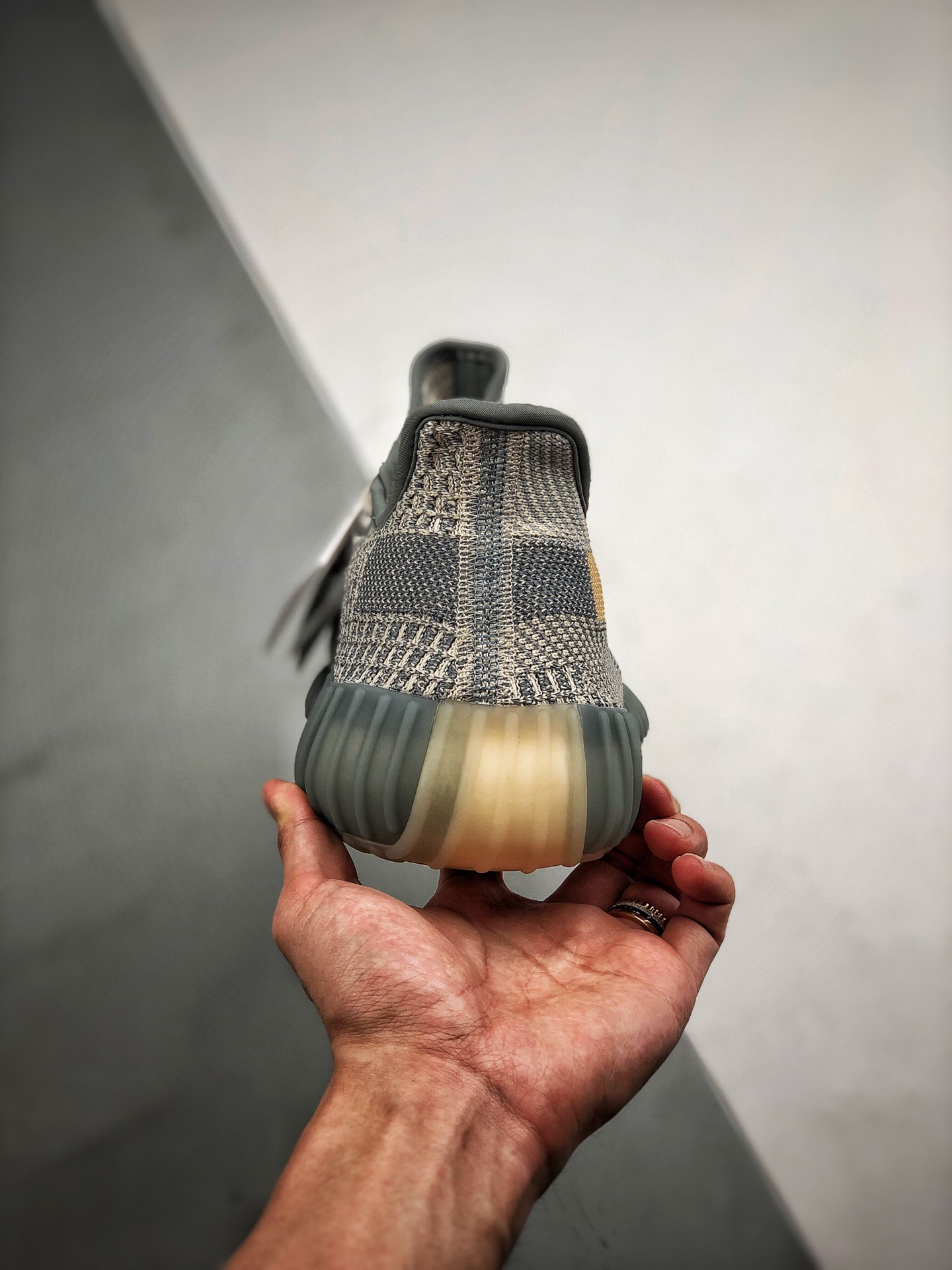 "Yeezy 350V2 ""Israfil"" 灰蓝 货号:FZ5421_纯原鞋s2"