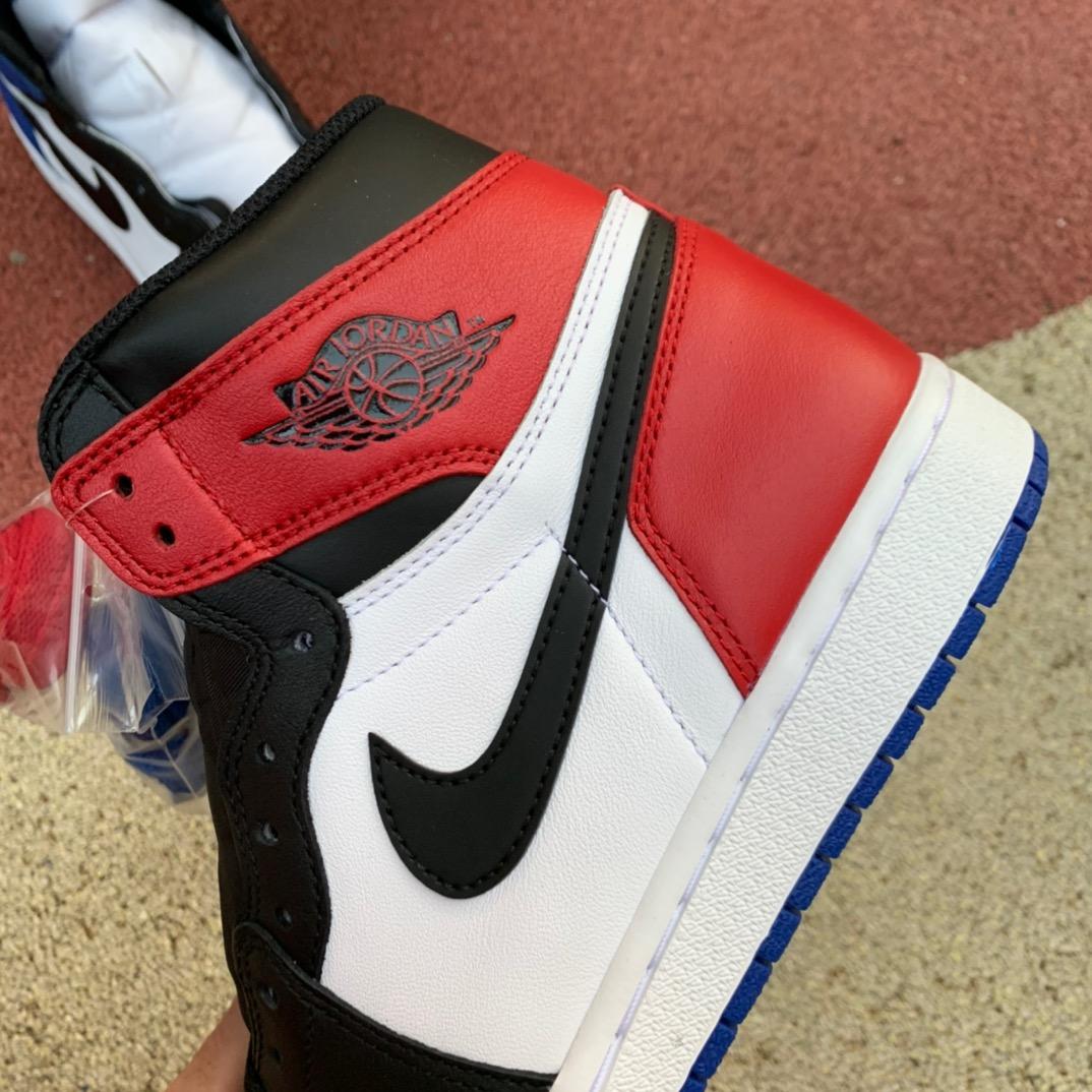 LJR出品-aj1鸳鸯-Air Jordan 1 OG Top 3 鸳鸯拼色 575441 555088-026_莆田鞋ljr什么意思