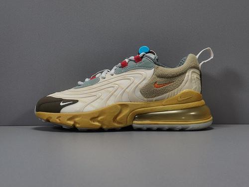 """纯原版_TS270 TS270  Travis Scott x Nike Air Max 270 """"Cactus Trails"""" ,货号_CT2864-200_莆田鞋x版是什么意思"""