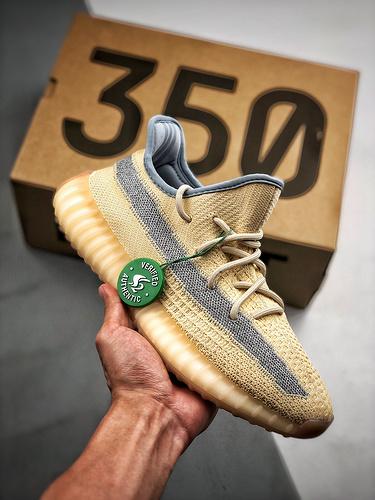"""Yeezy Boost 350 V2""""Linen""""FY5158 """"Linen""""麻布奶油_河源sz纯原裸鞋"""