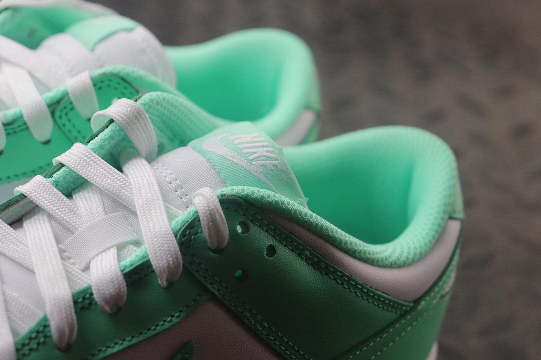 """蒂夫尼绿 DUNK LOW """"Green Glow""""货号:DD1503-105_老汪pk椰子材料"""