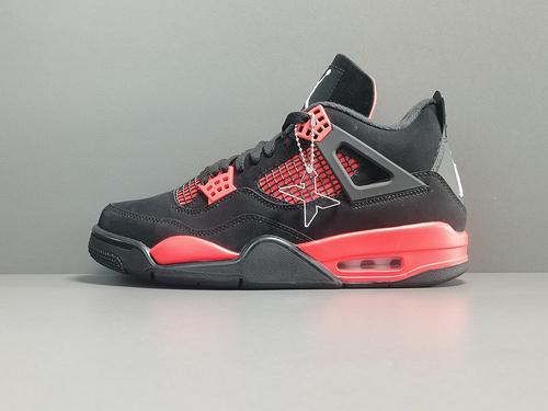"X版_AJ4_黑红 雷电  Air Jordan 4 ""Red Thunder"" 货号:CT8527-016_莆田xp版本什么意思"