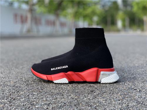 巴黎世家袜子气垫  黑红35--39_莆田鞋官网app