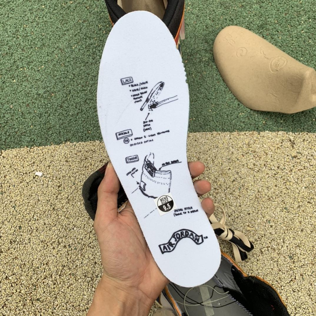LJR出品-拼接蓝-Union Air Jordan 1 NRG AJ1拼接四色 BV1300-146_莆田鞋get和ljr