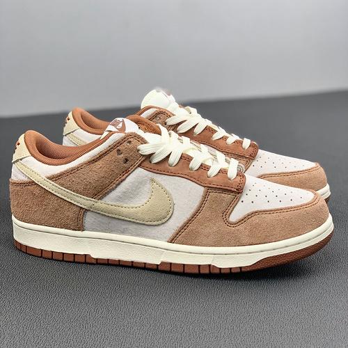奶茶色 米白棕色 货号:DD1390-100 Dunk Low PRM Medium Curry_河源裸鞋是高仿吗