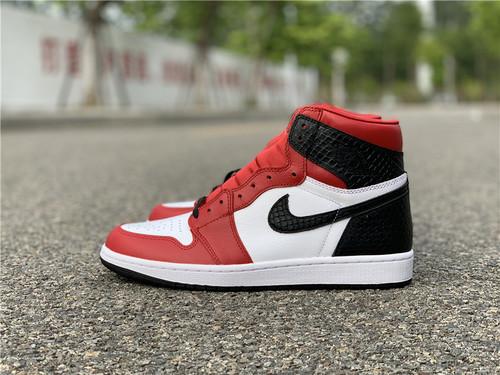 """Air Jordan 1 WMNS """"Satin Snake"""" 货号:CD0461-601_高质量莆田鞋微商"""