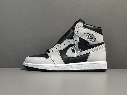 "X版:AJ1黑灰影子 莞产 Air Jordan 1 Retro High OG  ""Shadow 2.0""货号:555088-035_莆田xp版本是什么意思"