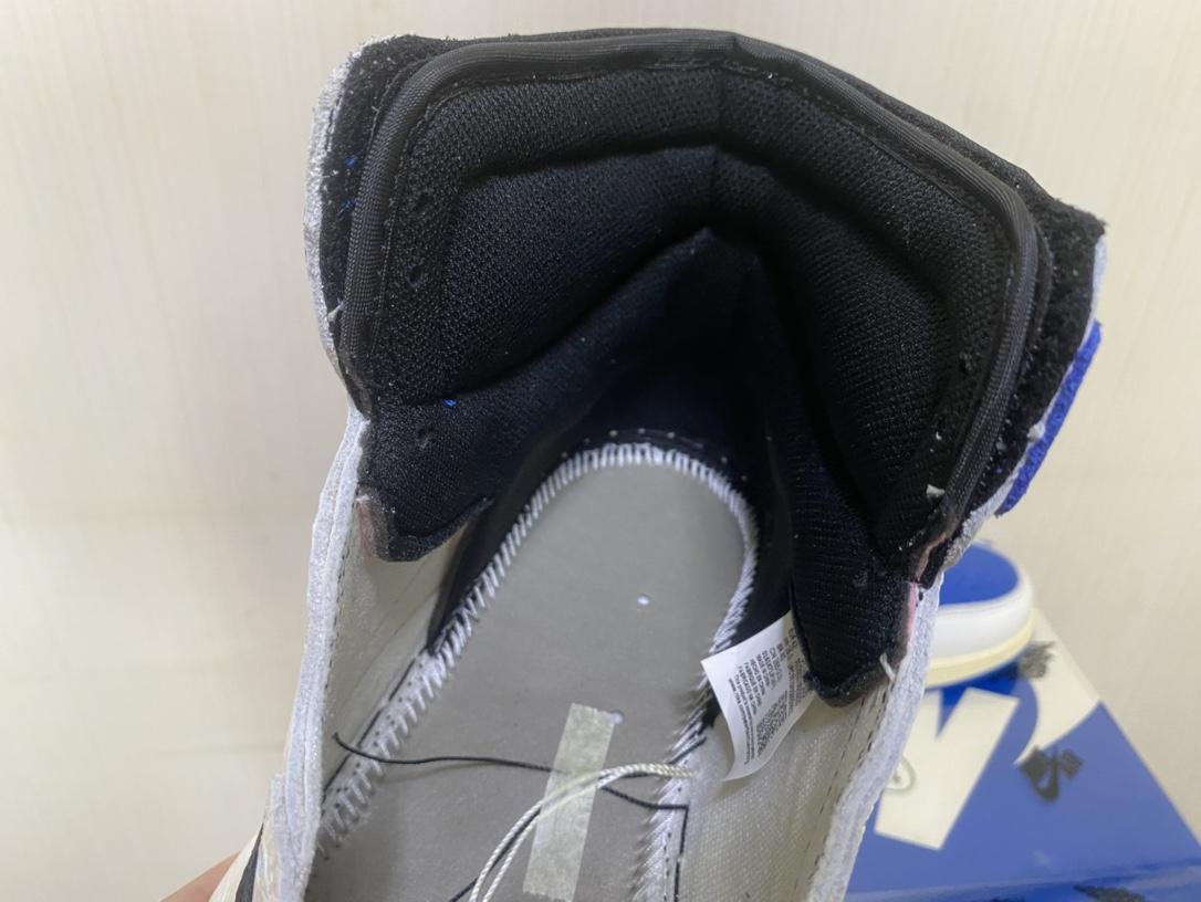 LJR出品-Travis Scott x Air Jordan 1 乔1闪电倒钩白蓝高帮篮球鞋DH3227-105_椰子350ljr和h15是什么版本