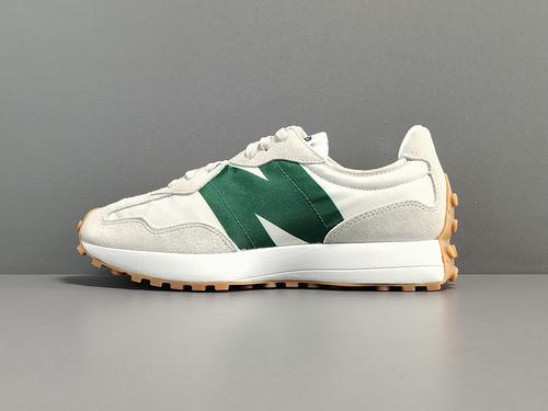 专柜版:NB327_白绿色 新百伦  New Balance 327 货号:MS327HR1_绿色x版莆田鞋