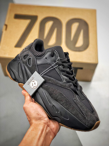 "S2椰子700OG Yeezy 700 Boost ""UTILITY BLACK""  BLACK纯黑武士  货号:FV5304_s2纯原是什么意思"