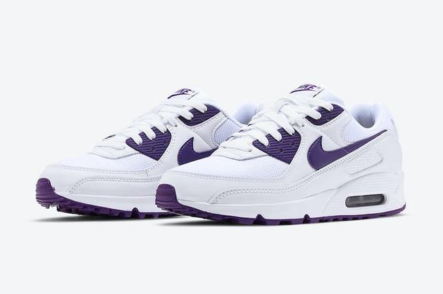 "Nike Air Max 90 ""Court Purple"" 货号:CT1028-100_莆田鞋货源网"