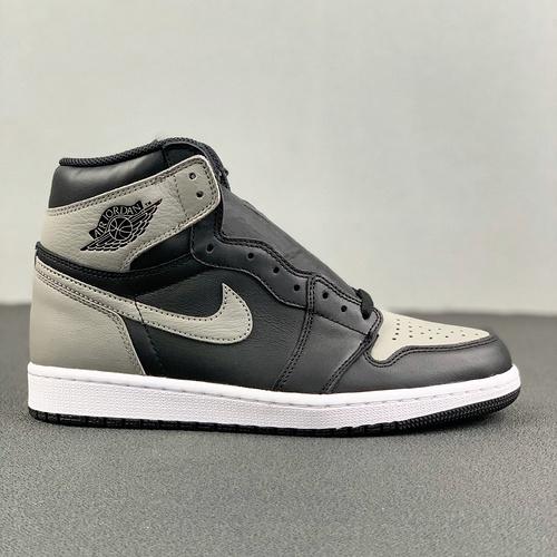 "Air Jordan 1 Retro OG ""Shadow""裕河源裸鞋 灰影子配色 555088-013_河源的裸鞋"