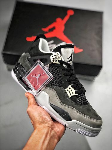 "Air Jordan 4 Retro ""Fear""  奥利奥 - 恐惧 经典情怀_og纯原和s2纯原哪个好"