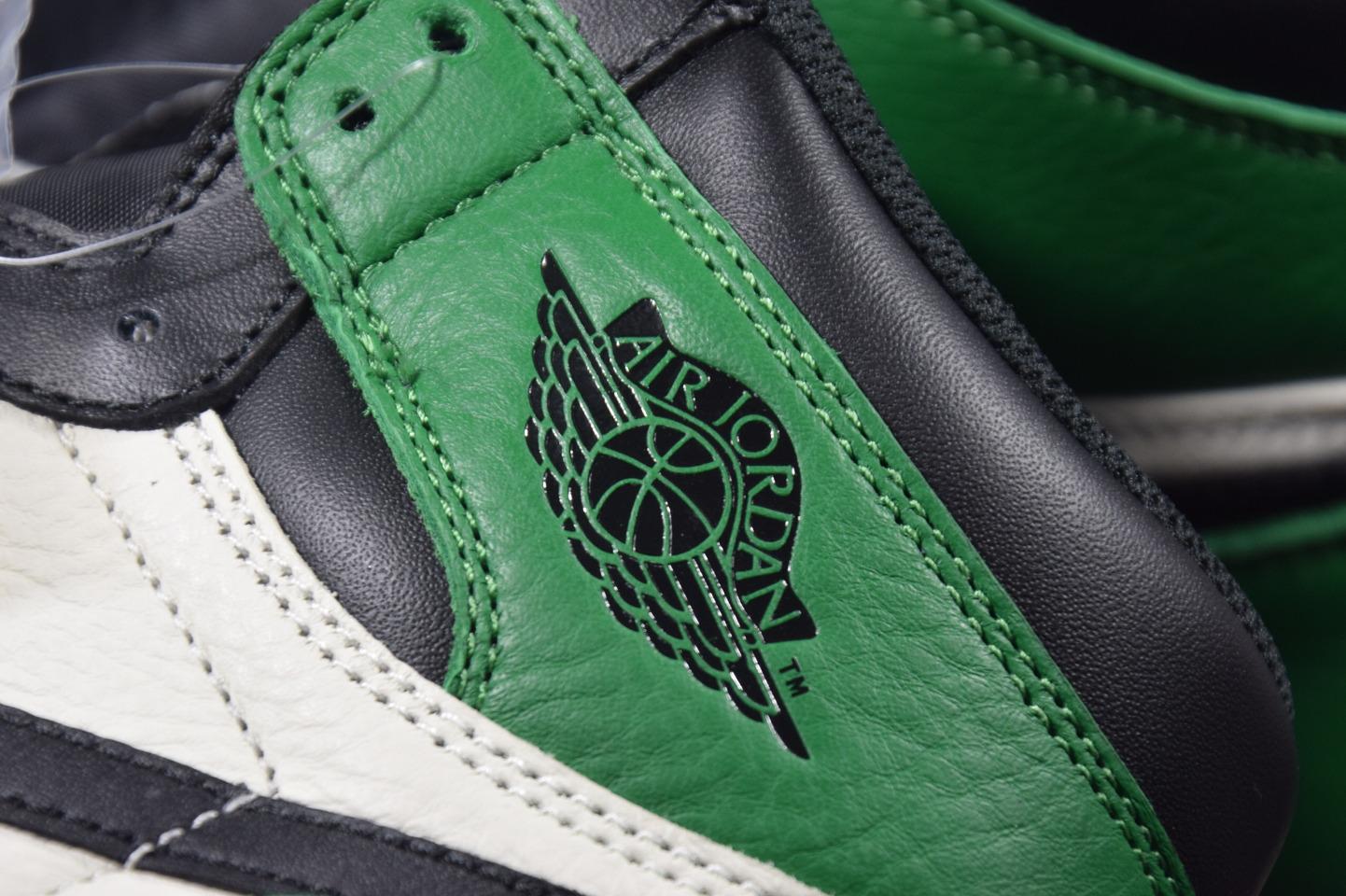 "AIR JORDAN 1 RETRO HIGH OG ""Pine Green"" 绿脚趾 555088-302_椰子500og和g5"