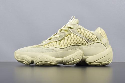 """【G5版椰子500】鞋码:36-47 G5版本 Adidas YEEZY 500 """"Super Moon Yellow"""" 500 黄色 DB2966 椰子 500_椰子g5版本是什么意思"""