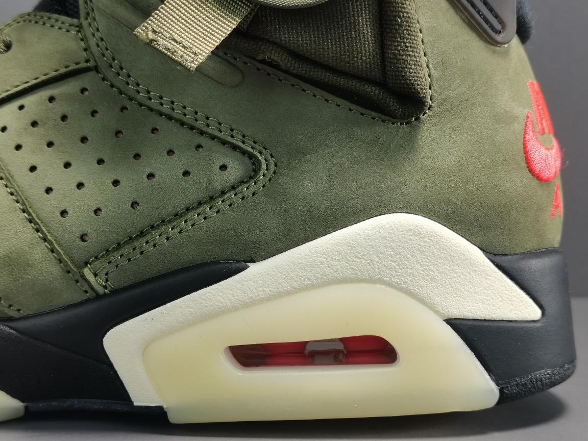 OG版_AJ6_乔六口袋  莞产 Travis Scott x Air Jordan 6 ,Air Jordan 6 Retro SP。 货号:CN1084-200_莆田og毒版是真的么