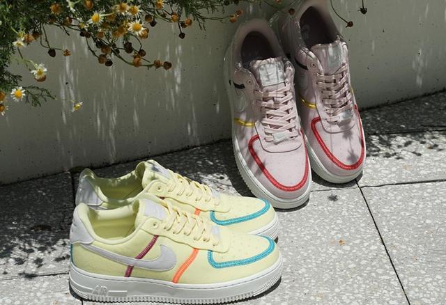 "Nike Air Force 1 Low ""Life Lime"" 货号:CK6572-600、CK6572-700_福建莆田高仿鞋批发"