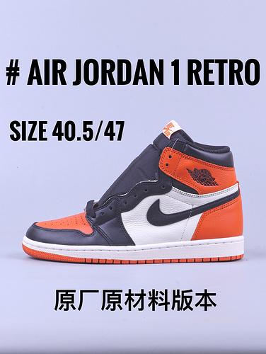 "Air Jordan 1 系列 ""黑扣碎""_GT毒版黑天使"
