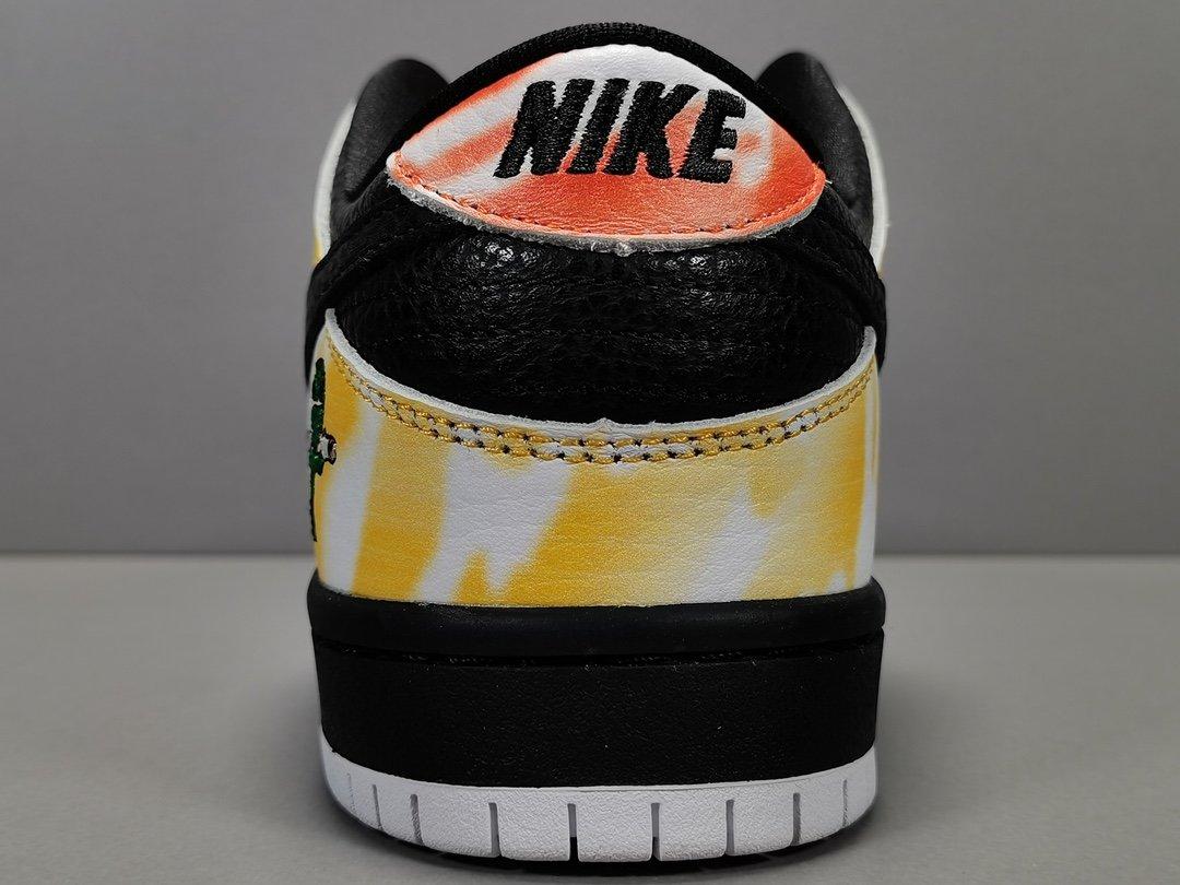 纯原版_DUNK SB 黑外星人 Nike Dunk low Pro SB Raygun Black,配色_Orange Flash/Black/White,货号_304292 803_莆田x版鞋子
