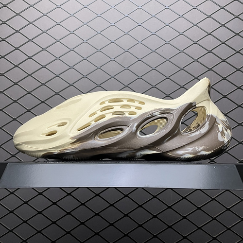 "Yeezy Foam Runner "" MX Cream Clay "" 奶油黏土 油画 椰子洞洞鞋 GX8774_sd纯原和s2纯原"