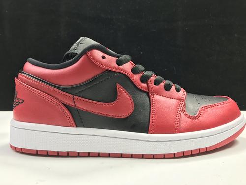 莞H版:AJ1 Low反转禁穿低帮 Air Jordan 1 low OG,货号:553558-606_莆田鞋ljr版本
