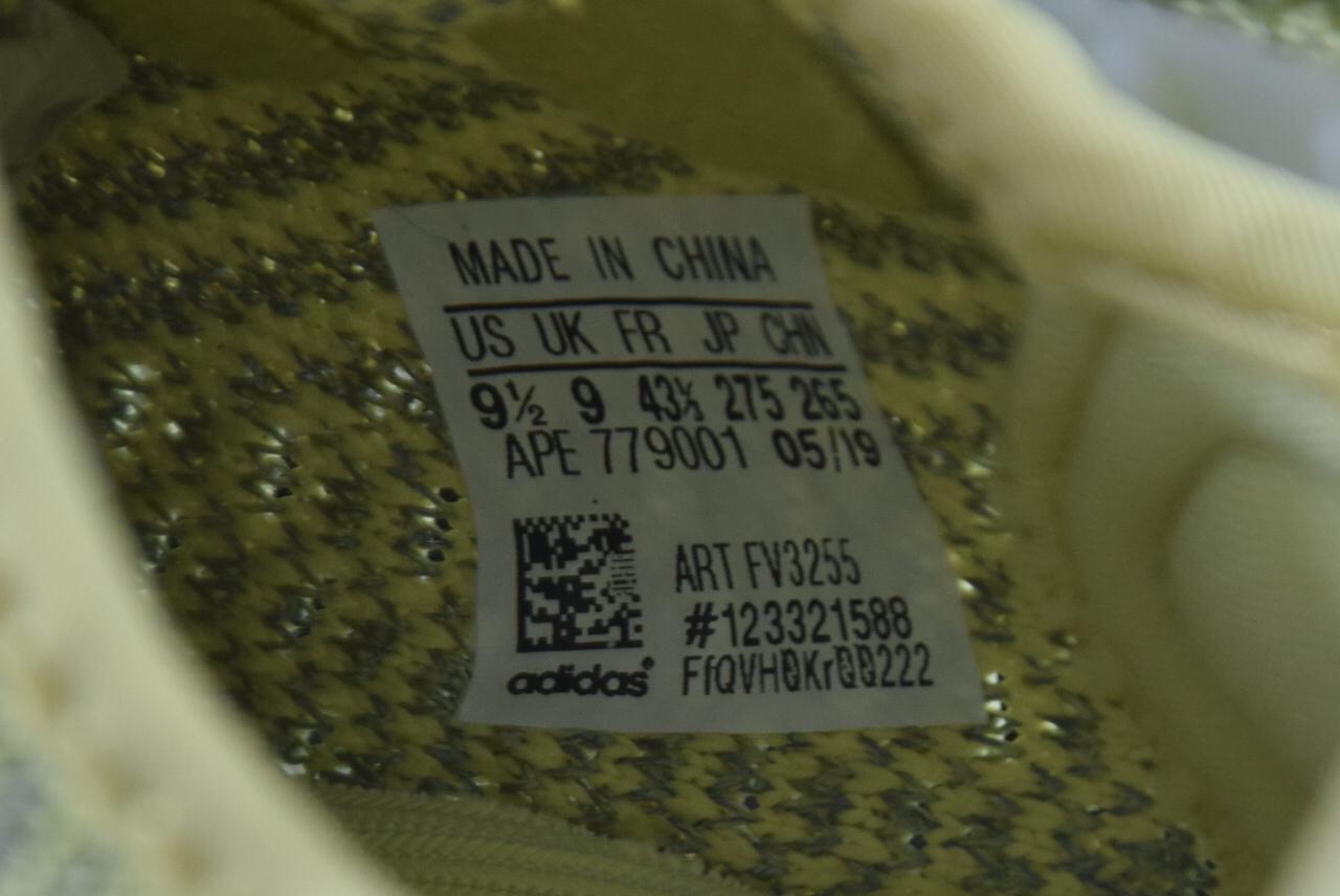 Get版本350  阿迪达斯 椰子 Adidas Yeezy 350 Boost V2 满天星香槟金 FV3255_椰子500真假对比g5