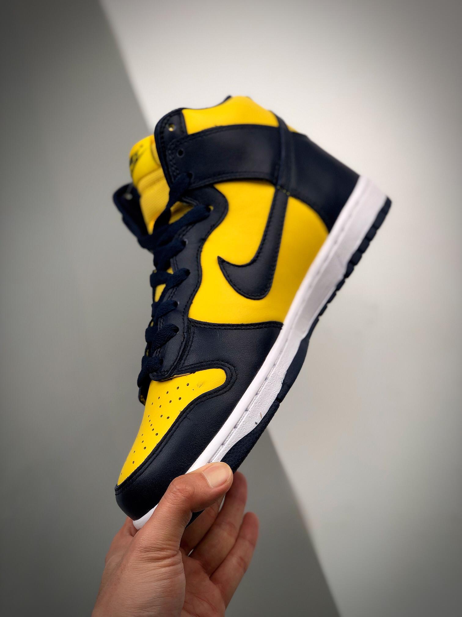 NK SB Dunk Hi SP 'Michigan' 密歇根313170-021_莆田鞋最高版本啥意思