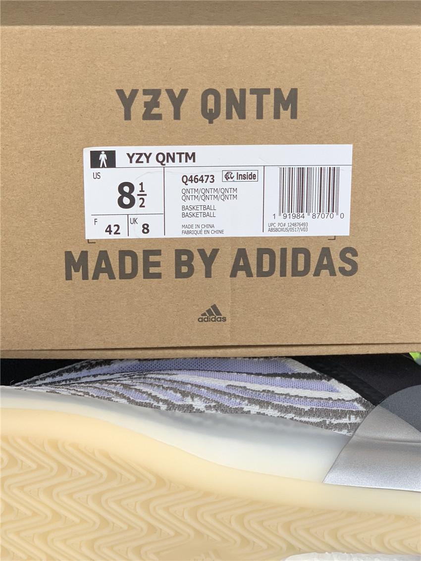 "Yeezybasketball ""Quantum"" 椰子篮球鞋  Q46473_广东aj实体店"
