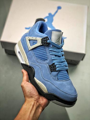 "S2纯原AJ4 Air Jordan 4 SE ""University Blue"" 大学蓝 货号:CT8527 400_y3鞋莆田"