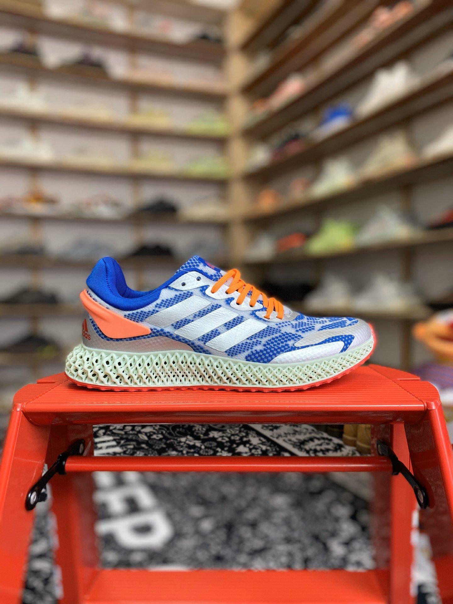 Alphaedge 4D 1.0 4D打印跑鞋 货号:FV5320-aj11兔八哥特供版