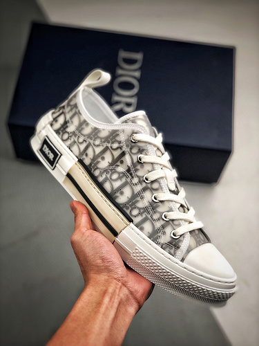 "Dior B23 Oblique Low Top Sneakers 迪奥""CD重影""_金手指s2纯原"