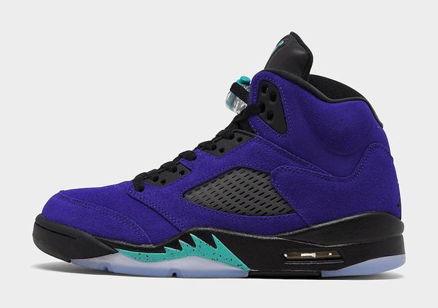 "Air Jordan 5 ""Alternate Grape"" 货号:136027-500_东莞aj"