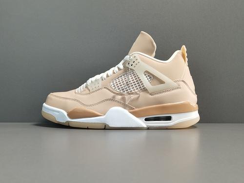 "X版_AJ4_藕色 Air Jordan 4 ""Shimmer"" 货号:DJ0675-200_莆田aj迪奥x版"