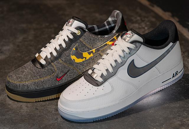 "Foot Locker Inc. x Nike Air Force 1 Low ""Remix Pack"" 全新配色_东莞aj在哪里买"