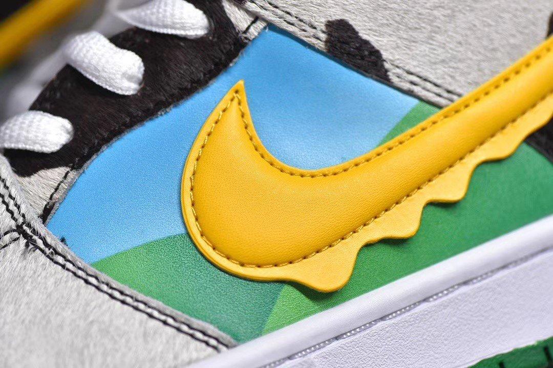 "PK版_冰淇淋 冰淇淋 Ben & Jerry&x27;s x NK SB Dunk Low Pro QS""Chunky Dunky"" ,低帮经典,货号_CU3244-10_工厂车间质量pk机制"