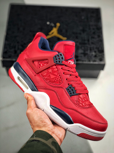"Air Jordan 4 ""FIBA Gym Red""   篮球世界杯_s2纯原区别"