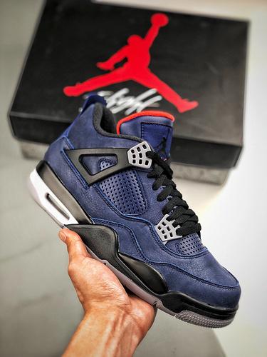 "Air Jordan 4 WNTR ""Loyal Blue"" 小阿姆-午夜蓝  货号CQ9597_s2纯原aj6"