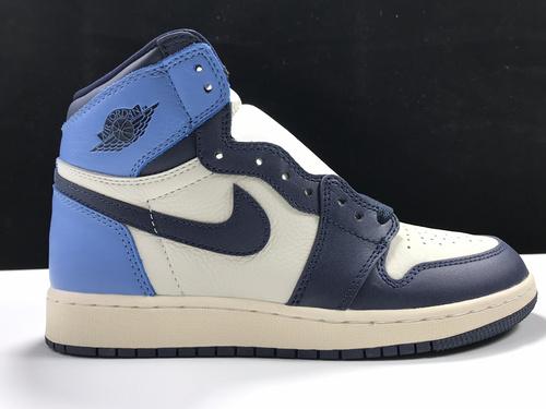 """莞H版:AJ1黑曜石女码样品Air Jordan 1 Satin """"Black Toe"""",货号:575441-140_莆田鞋最高版本"""