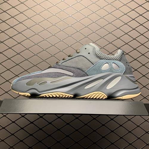 "Adidas 阿迪达斯 YEEZY Boost 700 侃爷椰子700新配色 "" Teal Blue "" FW2499_s2纯原椰子500"