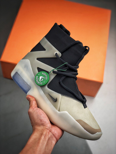 "AIR FEAR OF GOD ""The Question"" S2纯原生产线 黑白灰_s2纯原鞋子"