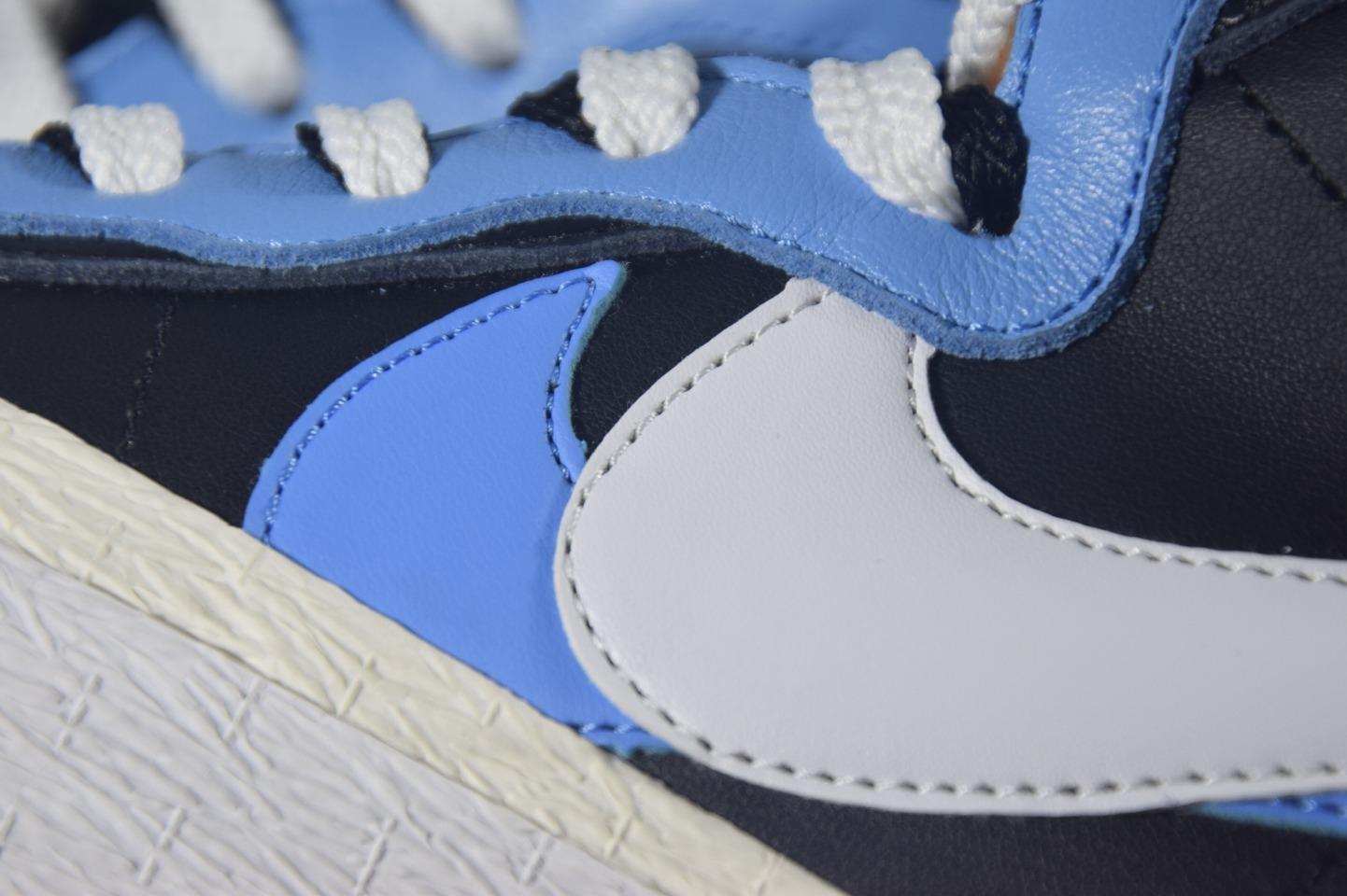 Top版本Sacai X Blazer Mid Black Blue 黑蓝 BV0072-001_椰子g5版本是什么意思
