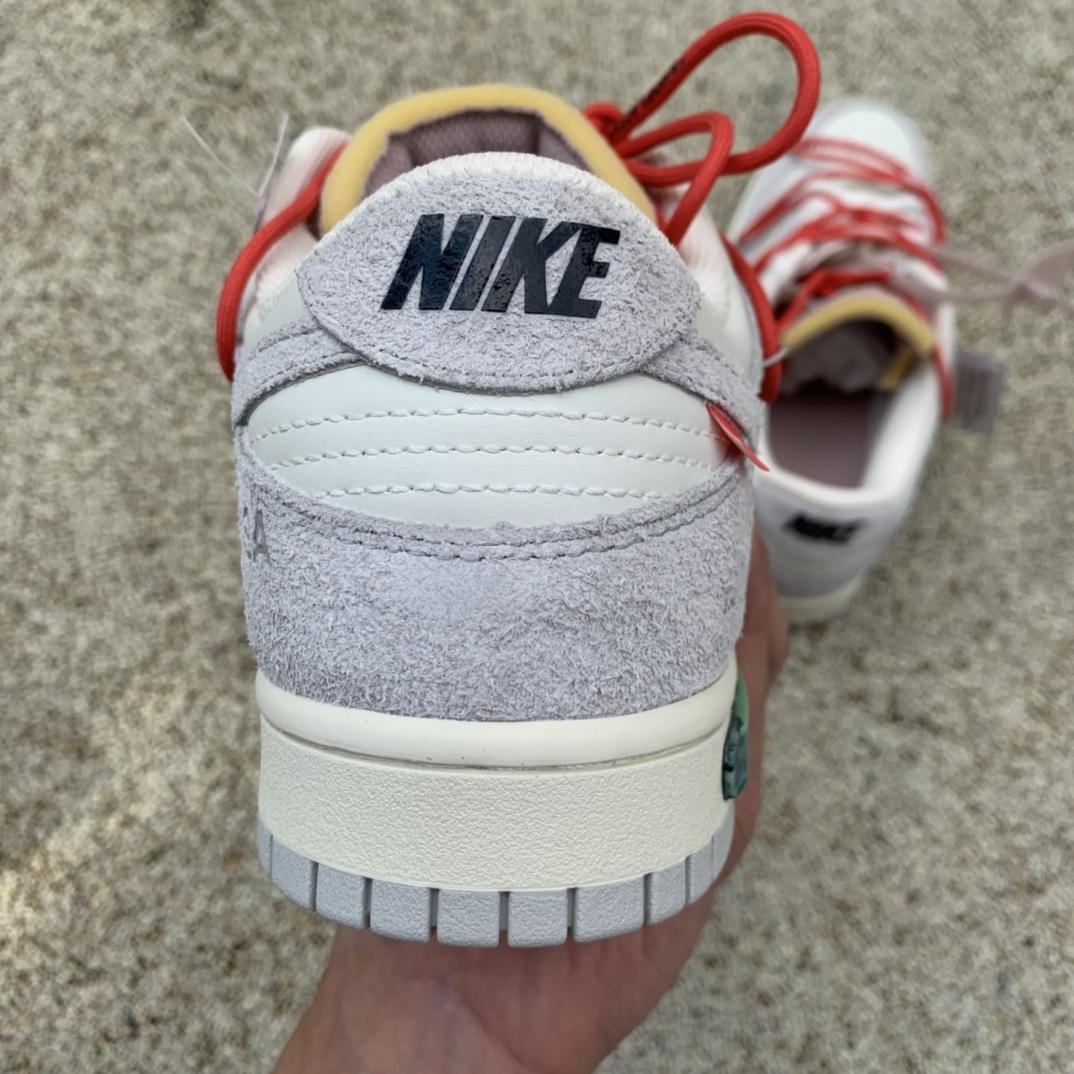 Dunk Off White OW联名NO.33淡粉红鞋带 DJ0950-118_莆田工厂在哪个地方