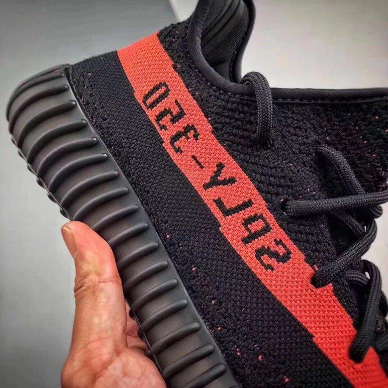 【椰子OG纯原】YEEZY 350 V2 黑粉 配色BY9612_莆田鞋性价比版本怎么样
