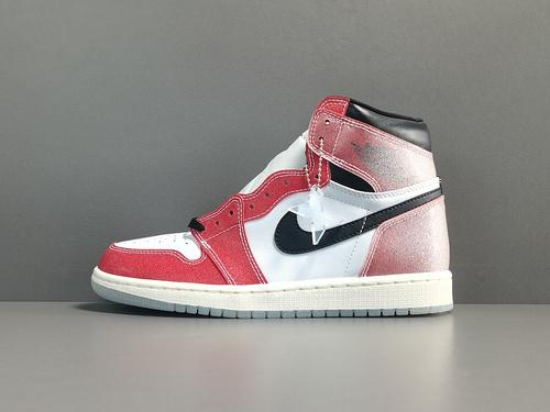 "X版:AJ1乔丹之子 Air Jordan 1 Retro High OG""Freeze Out""  货号: DA2728-100_莆田aj1get版和x版"